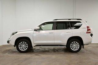 2013 Toyota Landcruiser Prado KDJ150R MY14 Kakadu White 5 Speed Sports Automatic Wagon.