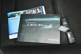 2010 Hyundai i30 FD MY10 SX cw Wagon Silver 4 Speed Automatic Wagon