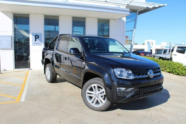 Demo Volkswagen Amarok 2H MY18 TDI420 4MOTION Perm Core Plus, 2018 Volkswagen Amarok 2H MY18 TDI420 4MOTION Perm Core Plus Deep Black Pearl Effect 8 Speed