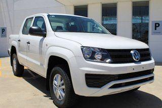 2017 Volkswagen Amarok 2H MY17 TDI400 4MOT Core Candy White 6 Speed Manual Utility.