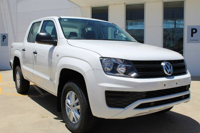 Demo Volkswagen Amarok 2H MY17 TDI400 4MOT Core, 2017 Volkswagen Amarok 2H MY17 TDI400 4MOT Core Candy White 6 Speed Manual Utility