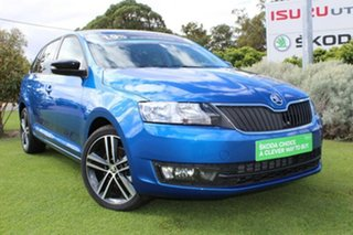 2017 Skoda Rapid NH MY17 Spaceback DSG Race Blue 7 Speed Sports Automatic Dual Clutch Hatchback.