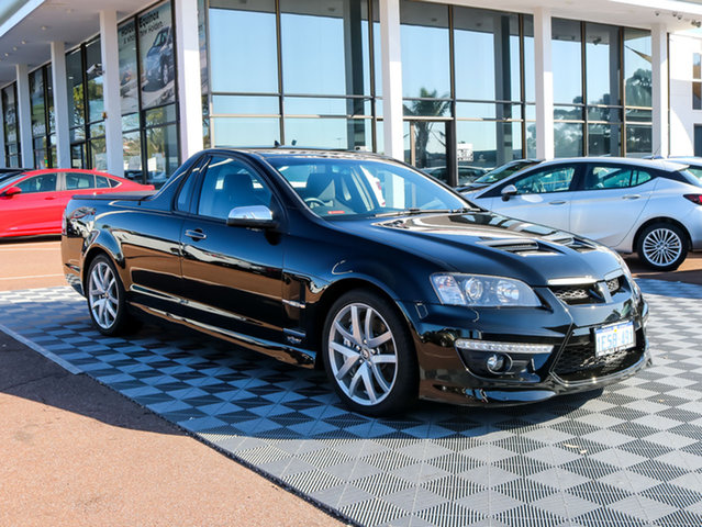Used Holden Special Vehicles Maloo E Series 2 GXP, 2010 Holden Special Vehicles Maloo E Series 2 GXP Black/Grey 6 Speed Manual Utility