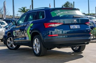 2017 Skoda Kodiaq NS MY18 140TDI DSG Blue 7 Speed Sports Automatic Dual Clutch Wagon.