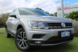2018 Volkswagen Tiguan 5N MY18 110TDI DSG 4MOTION Comfortline Tungsten Silver 7 Speed.
