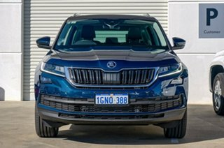 2017 Skoda Kodiaq NS MY18 140TDI DSG Blue 7 Speed Sports Automatic Dual Clutch Wagon