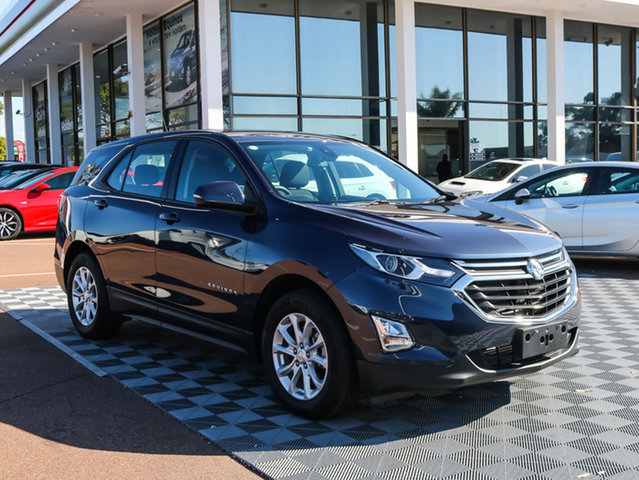 Used Holden Equinox EQ MY18 LS+ FWD, 2017 Holden Equinox EQ MY18 LS+ FWD Blue Steel 6 Speed Sports Automatic Wagon