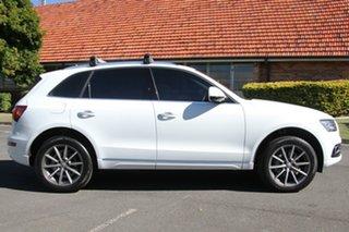 2015 Audi Q5 8R MY15 TDI S tronic quattro White 7 Speed Sports Automatic Dual Clutch Wagon.