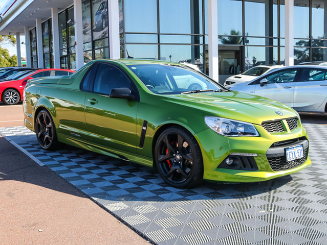 Used Holden Special Vehicles Maloo GEN-F MY15 R8, 2015 Holden Special Vehicles Maloo GEN-F MY15 R8 Green 6 Speed Sports Automatic Utility
