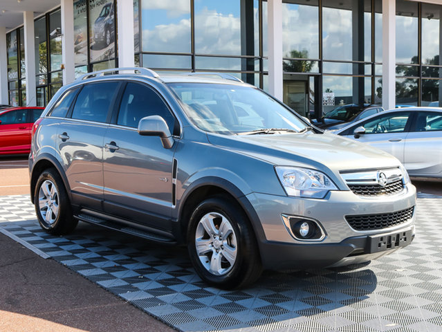 Used Holden Captiva CG Series II 5 AWD, 2012 Holden Captiva CG Series II 5 AWD Silver 6 Speed Sports Automatic Wagon