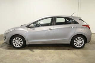 2012 Hyundai i30 GD Active Hyper Silver 6 Speed Manual Hatchback.