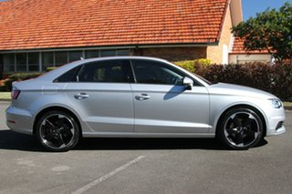 2014 Audi A3 8V MY15 Attraction S tronic Silver 7 Speed Sports Automatic Dual Clutch Sedan.