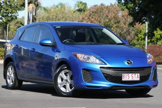 2012 Mazda 3 BL10F2 MY13 Maxx Sport Blue 6 Speed Manual Hatchback.