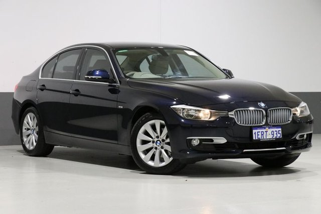 Used BMW 320i F30 Modern Line, 2013 BMW 320i F30 Modern Line Blue 8 Speed Automatic Sedan