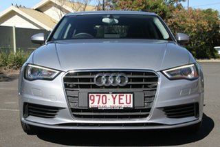 2014 Audi A3 8V MY15 Attraction S tronic Silver 7 Speed Sports Automatic Dual Clutch Sedan
