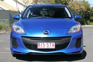2012 Mazda 3 BL10F2 MY13 Maxx Sport Blue 6 Speed Manual Hatchback