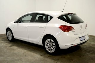 2013 Opel Astra AS White 6 Speed Sports Automatic Hatchback.