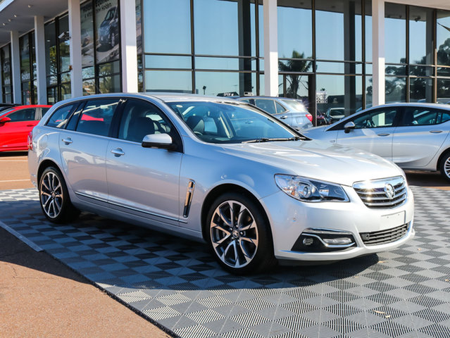Used Holden Calais VF MY15 V Sportwagon, 2015 Holden Calais VF MY15 V Sportwagon Silver 6 Speed Sports Automatic Wagon