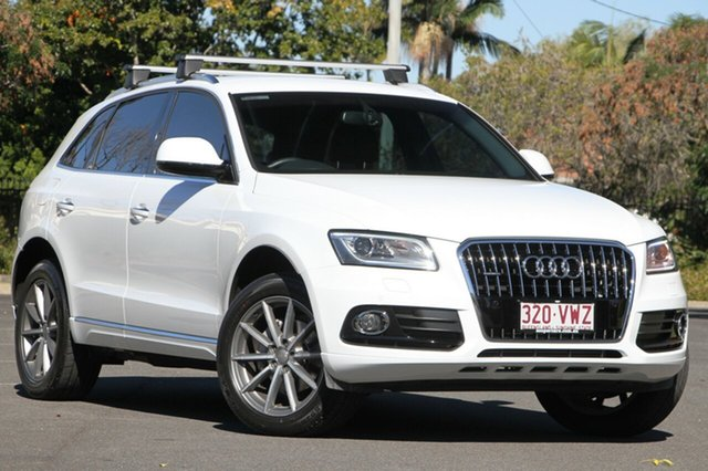 Used Audi Q5 8R MY15 TDI S tronic quattro, 2015 Audi Q5 8R MY15 TDI S tronic quattro White 7 Speed Sports Automatic Dual Clutch Wagon