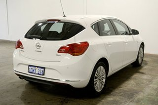 2013 Opel Astra AS White 6 Speed Sports Automatic Hatchback