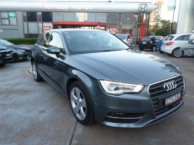 Used Audi A3 8P MY13 Ambition Sportback S tronic, 2013 Audi A3 8P MY13 Ambition Sportback S tronic Grey 7 Speed Sports Automatic Dual Clutch Hatchback
