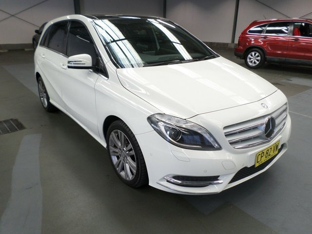 Used Mercedes-Benz B200 W246 DCT, 2013 Mercedes-Benz B200 W246 DCT White 7 Speed Sports Automatic Dual Clutch Hatchback