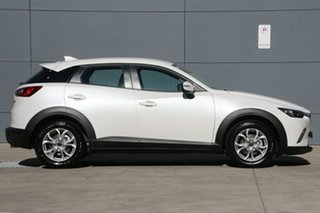 2018 Mazda CX-3 DK2W76 Maxx SKYACTIV-MT Snowflake White 6 Speed Manual Wagon