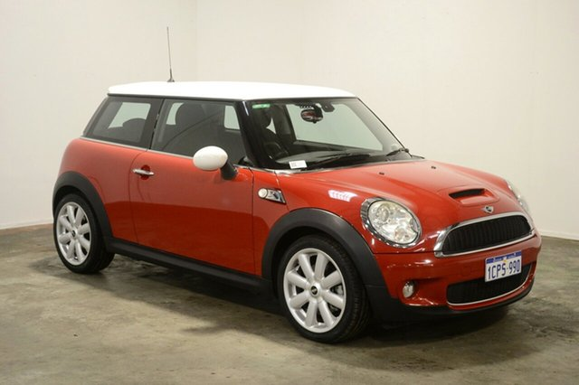Used Mini Hatch R56 Cooper S Steptronic, 2009 Mini Hatch R56 Cooper S Steptronic Red 6 Speed Sports Automatic Hatchback