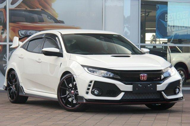 Used Honda Civic 10th Gen MY18 Type R, 2017 Honda Civic 10th Gen MY18 Type R Championship White 6 Speed Manual Hatchback