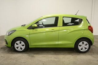 2016 Holden Spark MP MY16 LS Green 1 Speed Constant Variable Hatchback.