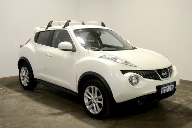 Used Nissan Juke F15 MY14 ST 2WD, 2014 Nissan Juke F15 MY14 ST 2WD White 1 Speed Constant Variable Hatchback