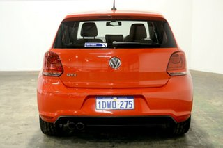 2012 Volkswagen Polo 6R MY12.5 GTI DSG Red 7 Speed Sports Automatic Dual Clutch Hatchback