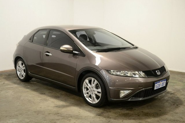 Used Honda Civic 8th Gen MY11 SI, 2011 Honda Civic 8th Gen MY11 SI Bronze 5 Speed Automatic Hatchback