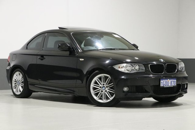 Used BMW 123d E82 MY11 , 2010 BMW 123d E82 MY11 Black 6 Speed Automatic Coupe