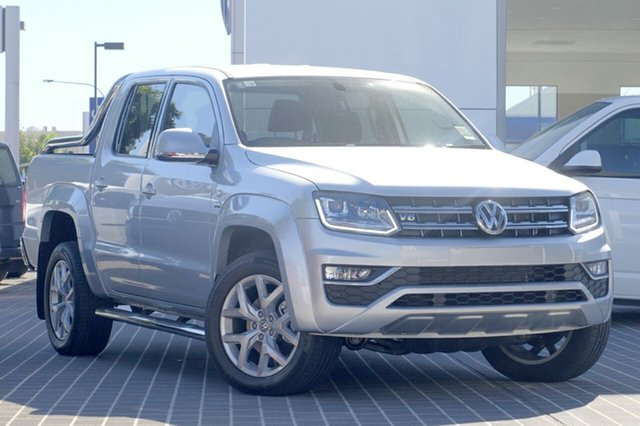 New Volkswagen Amarok 2H MY19 TDI580 4MOTION Perm Ultimate, 2019 Volkswagen Amarok 2H MY19 TDI580 4MOTION Perm Ultimate Reflex Silver 8 Speed Automatic Utility