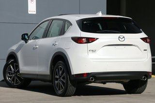 2017 Mazda CX-5 KF4W2A Akera SKYACTIV-Drive i-ACTIV AWD White Pearl 6 Speed Sports Automatic Wagon.