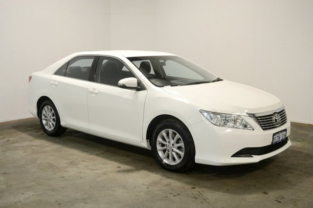 Used Toyota Aurion GSV50R AT-X, 2014 Toyota Aurion GSV50R AT-X White 6 Speed Sports Automatic Sedan