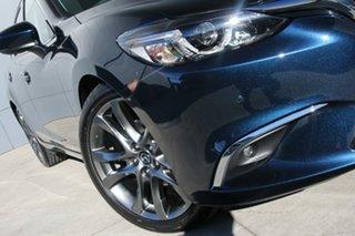 2017 Mazda 6 GL1031 GT SKYACTIV-Drive Deep Crystal Blue 6 Speed Sports Automatic Wagon.