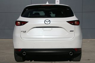2017 Mazda CX-5 KF4W2A Akera SKYACTIV-Drive i-ACTIV AWD White Pearl 6 Speed Sports Automatic Wagon