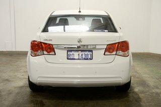 2013 Holden Cruze JH Series II MY14 Equipe White 6 Speed Sports Automatic Sedan