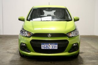 2016 Holden Spark MP MY16 LS Green 1 Speed Constant Variable Hatchback