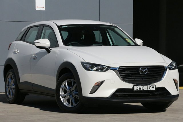 Demo Mazda CX-3 DK2W76 Maxx SKYACTIV-MT, 2018 Mazda CX-3 DK2W76 Maxx SKYACTIV-MT Snowflake White 6 Speed Manual Wagon