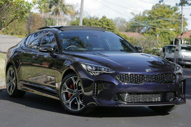 New Kia Stinger CK MY20 GT Fastback, 2019 Kia Stinger CK MY20 GT Fastback Deep Chroma Blue 8 Speed Sports Automatic Sedan