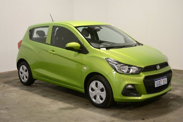 Used Holden Spark MP MY16 LS, 2016 Holden Spark MP MY16 LS Green 1 Speed Constant Variable Hatchback