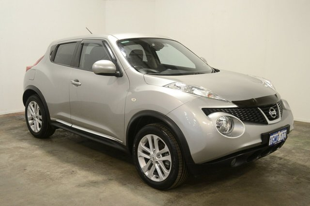 Used Nissan Juke F15 Series 2 Ti-S X-tronic AWD, 2015 Nissan Juke F15 Series 2 Ti-S X-tronic AWD Silver 1 Speed Constant Variable Hatchback
