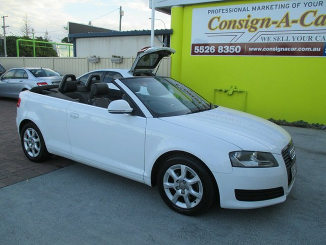 Used Audi A3 8P Attraction S tronic, 2008 Audi A3 8P Attraction S tronic White 6 Speed Sports Automatic Dual Clutch Convertible
