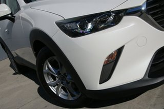 2018 Mazda CX-3 DK2W76 Maxx SKYACTIV-MT Snowflake White 6 Speed Manual Wagon.