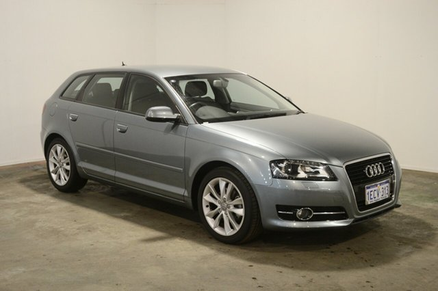 Used Audi A3 8P MY13 Ambition Sportback S tronic, 2013 Audi A3 8P MY13 Ambition Sportback S tronic Condor Grey 7 Speed Sports Automatic Dual Clutch