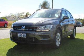 2017 Volkswagen Tiguan 5N 110TSI Trendline Grey Manual Wagon.