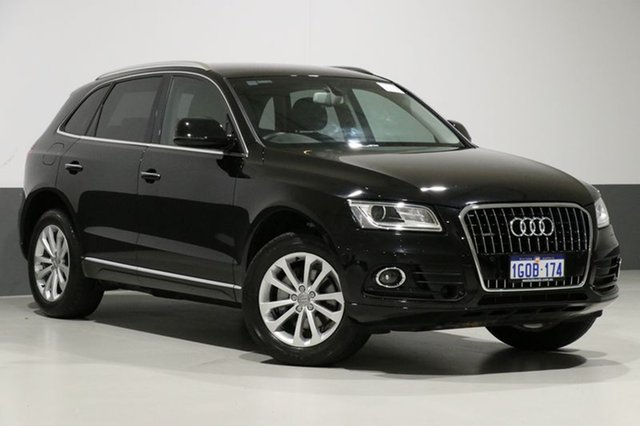 Used Audi Q5 8R MY17 2.0 TDI Quattro, 2016 Audi Q5 8R MY17 2.0 TDI Quattro Mythos Black 7 Speed Auto Dual Clutch Wagon
